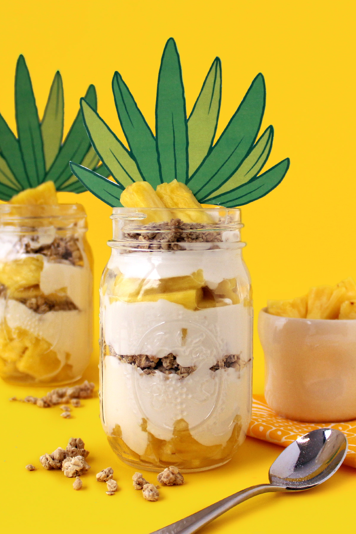 SpongeBob Pineapple Parfait Recipe