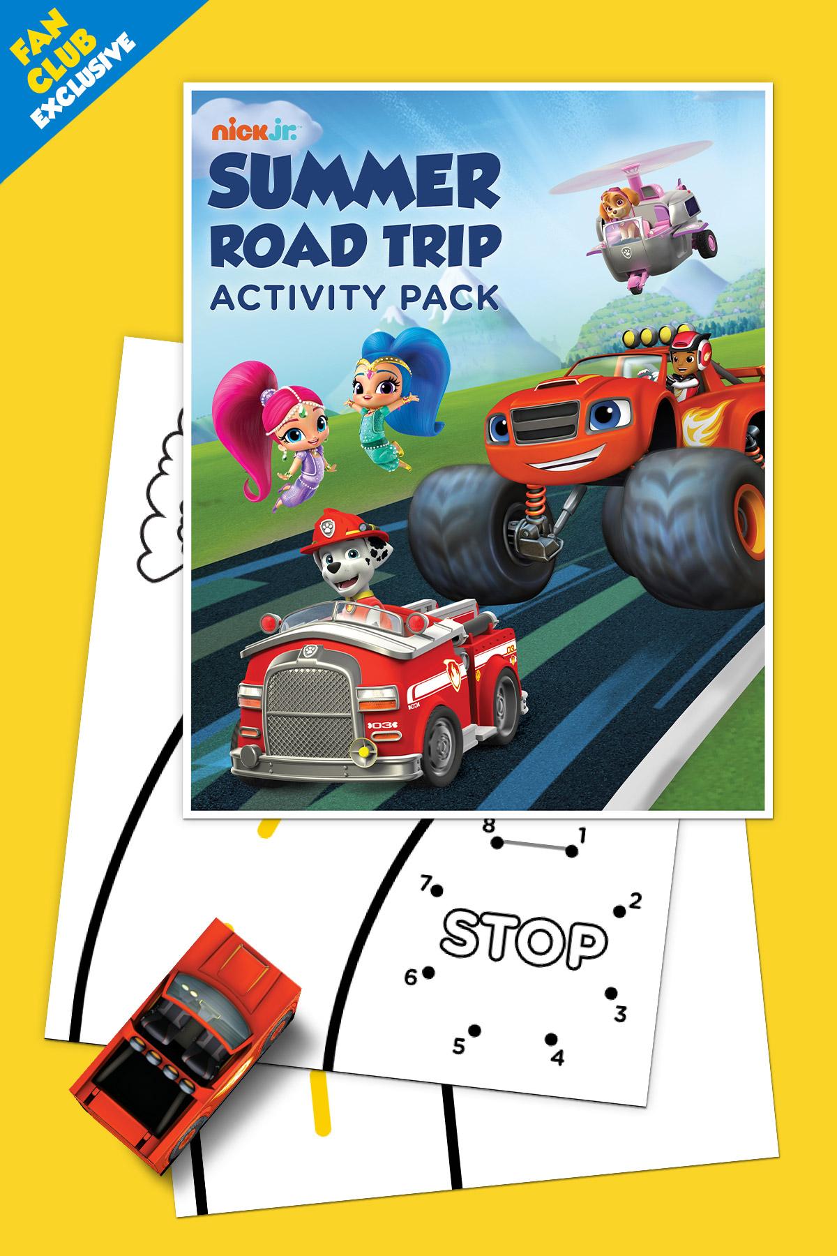 Fan Club Exclusive: Summer Road Trip Printable