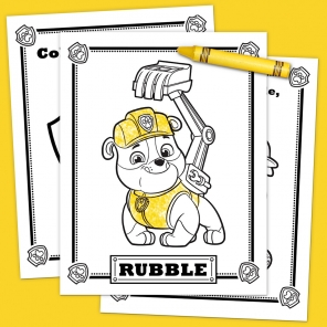 Meet Rubble Activity Pack