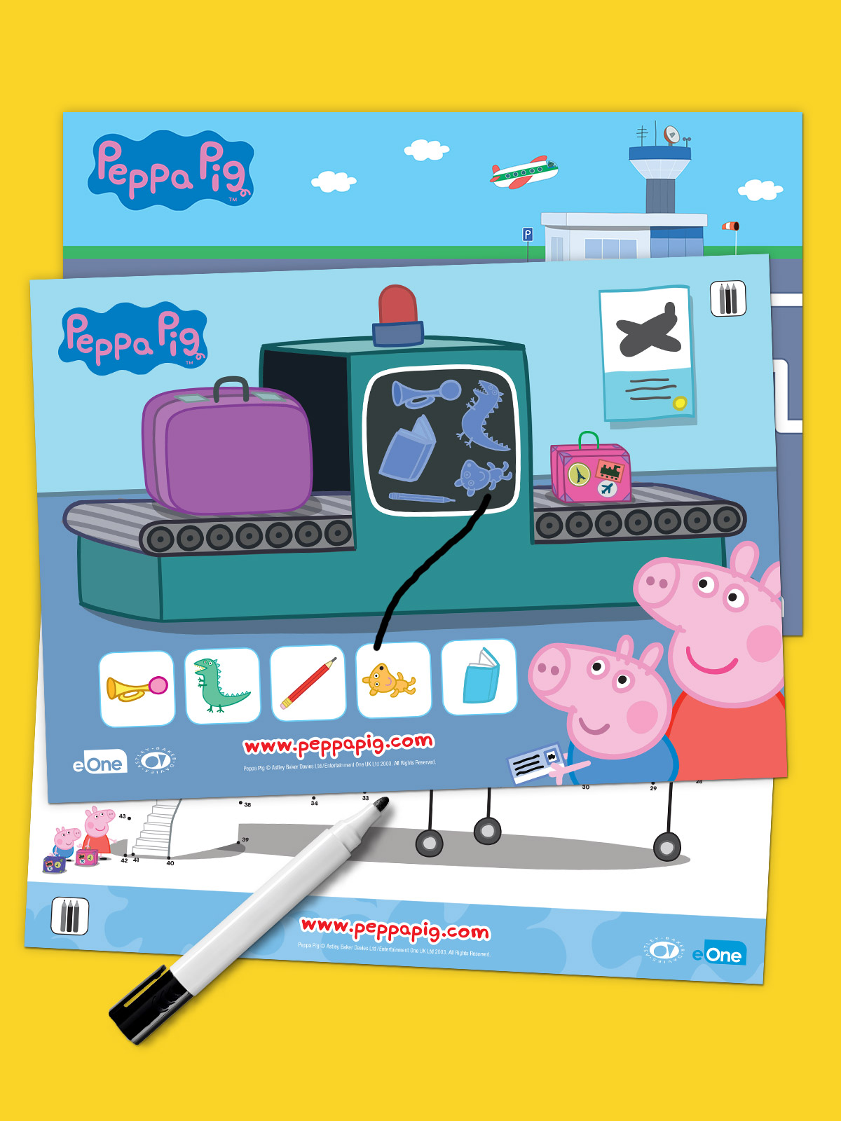 Peppa Pig Summer Travel Pack