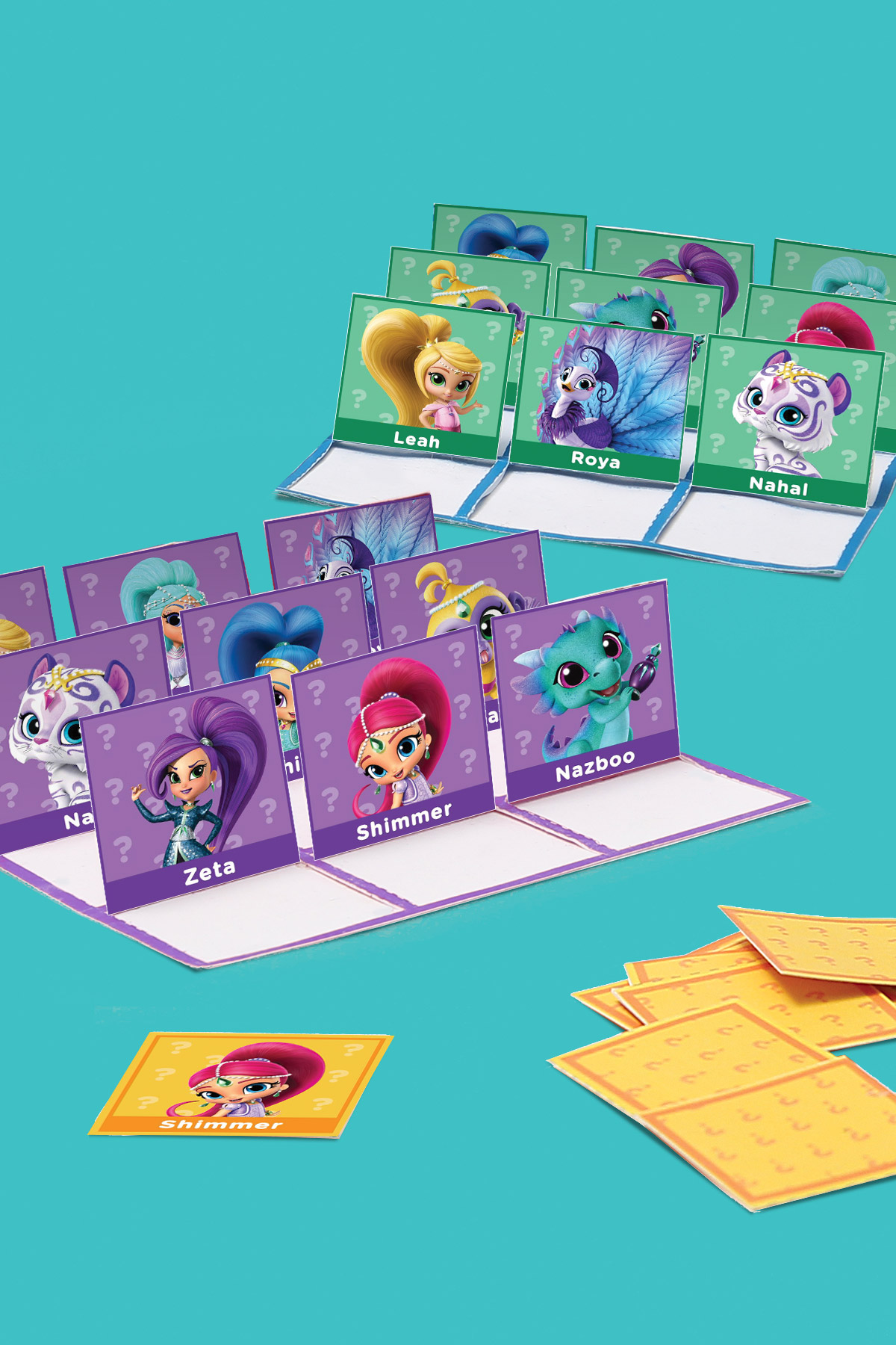 Shimmer and Shine Guess Who Game