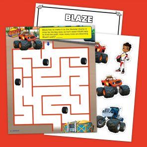 Top 6 Blaze Printables And The Monster Machines Birthday Party