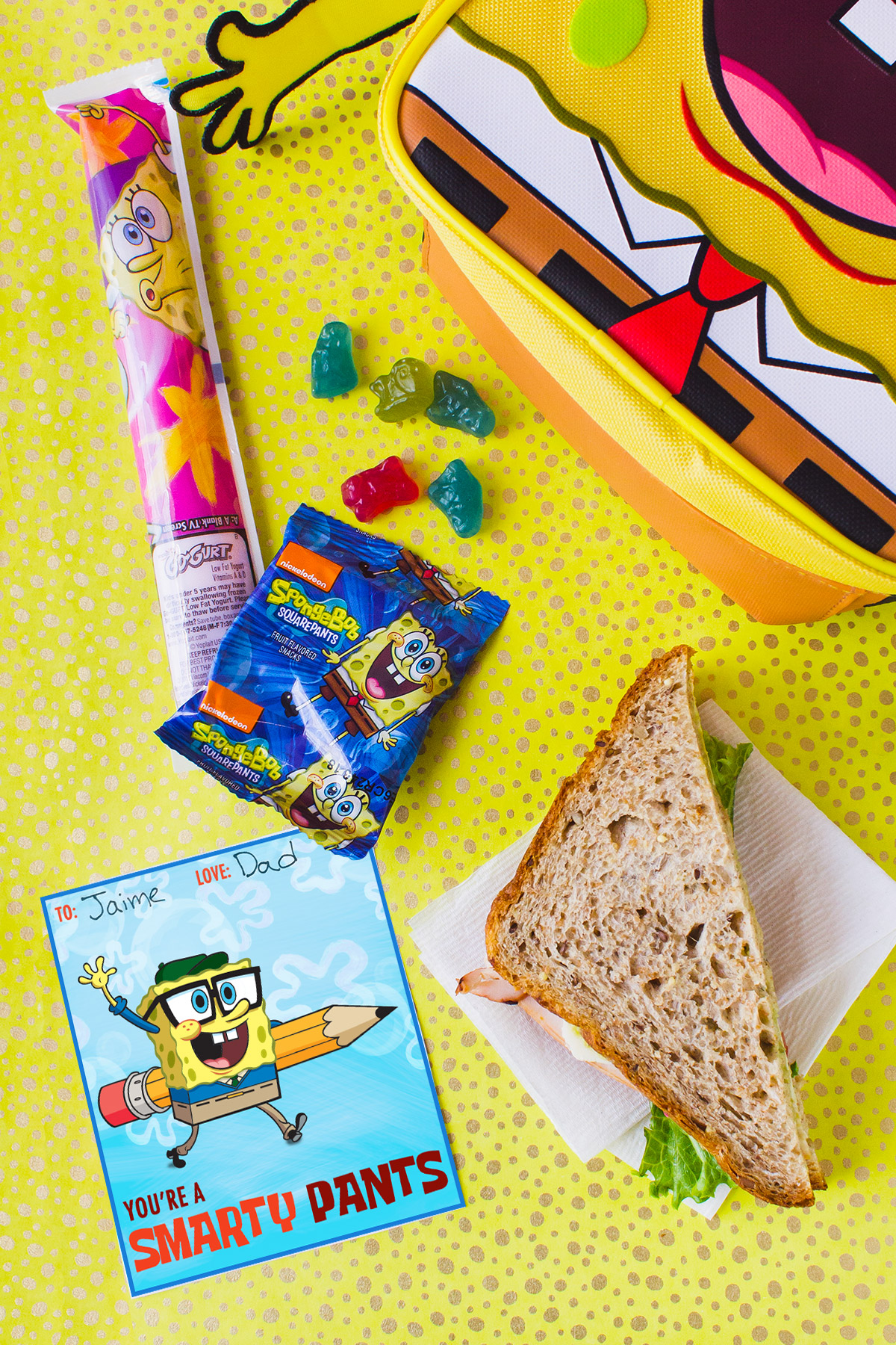 Pack a Spongebob Lunch