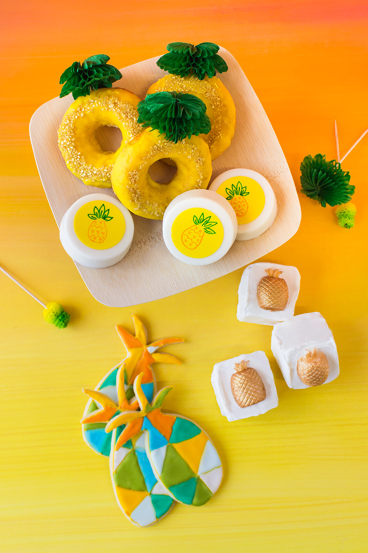 Spongebob Pineapple Baked Goods
