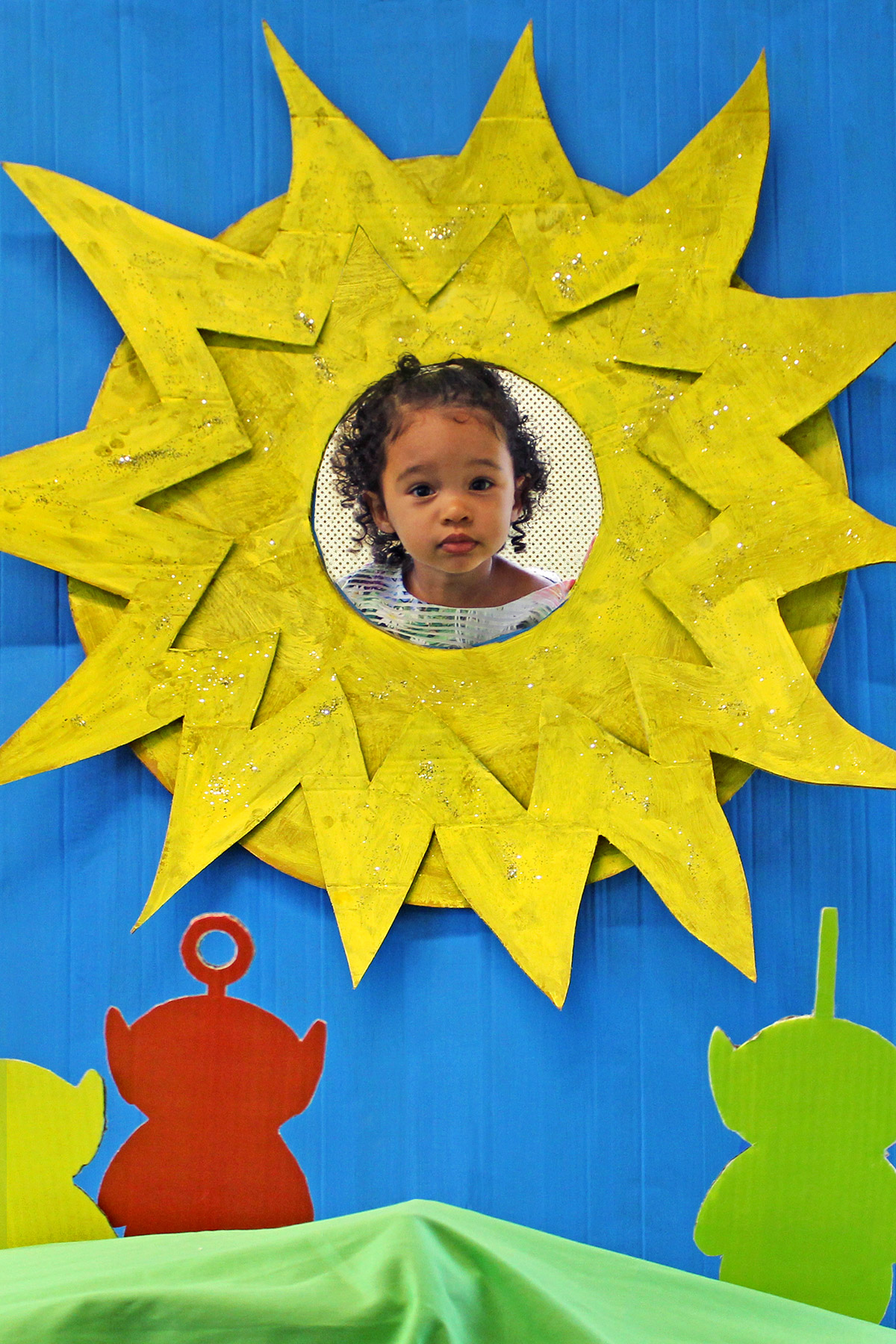 Teletubbies Sun Baby Craft
