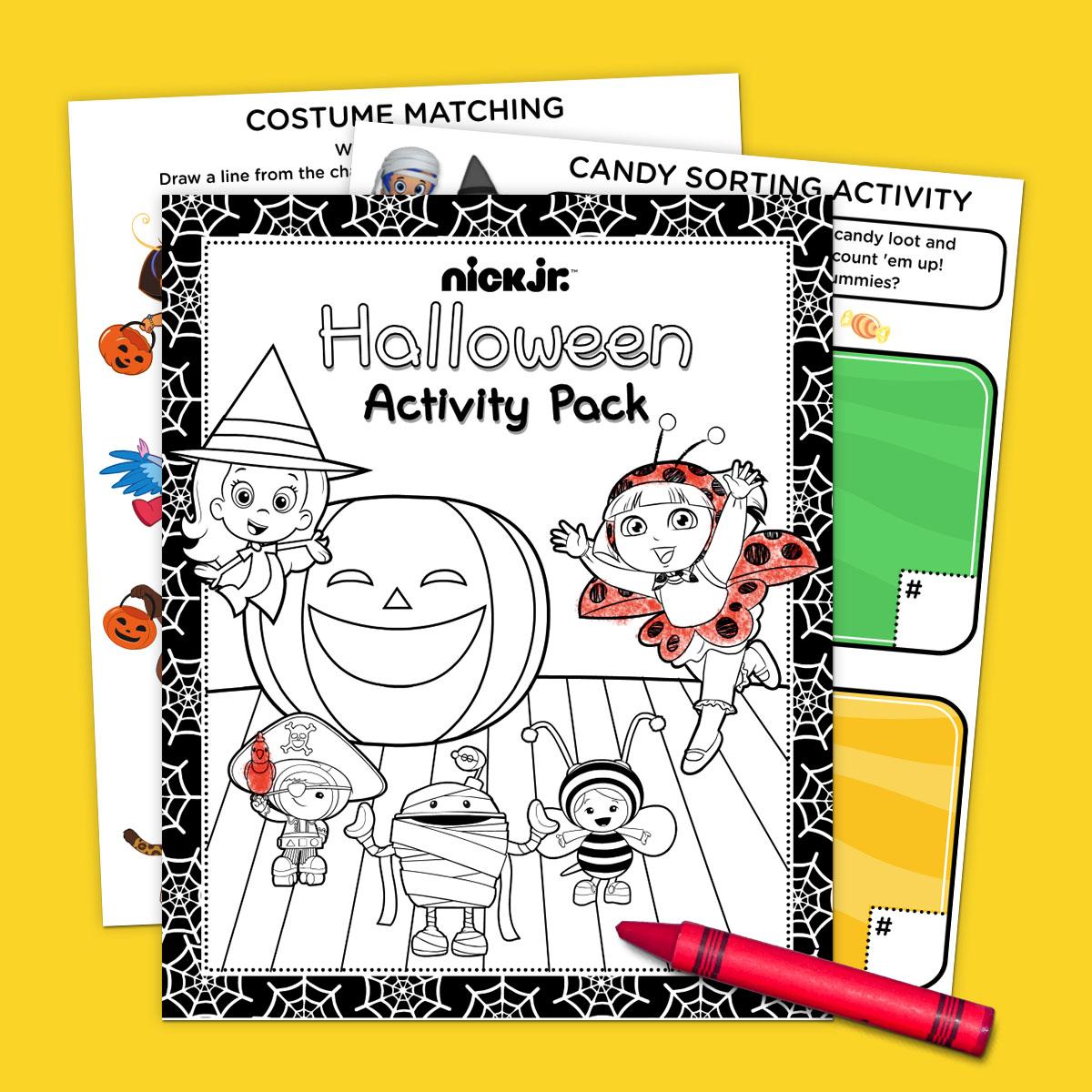 Nick Jr. Halloween Activity Pack