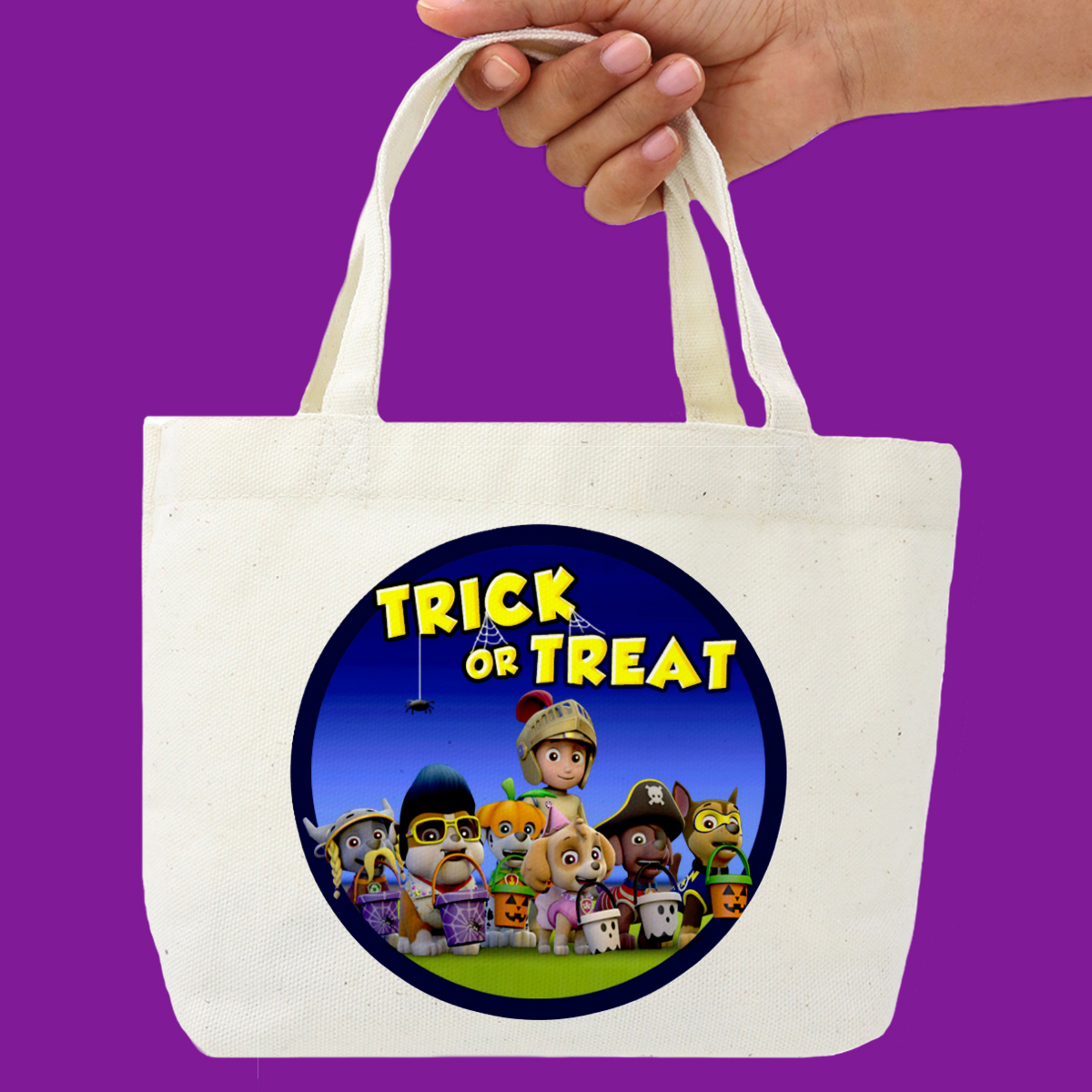 PAW Patrol Halloween Treat Sack Decal