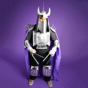 TMNT DIY Shredder Costume