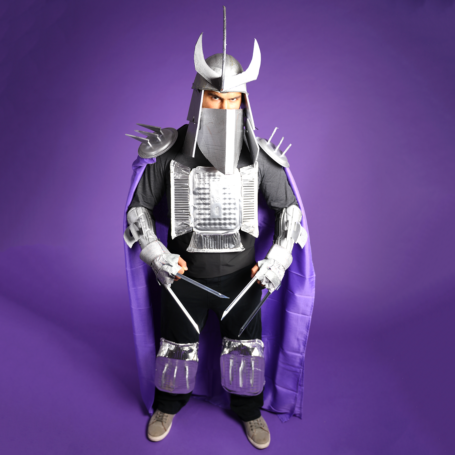 TMNT Shredder Halloween DIY Costume