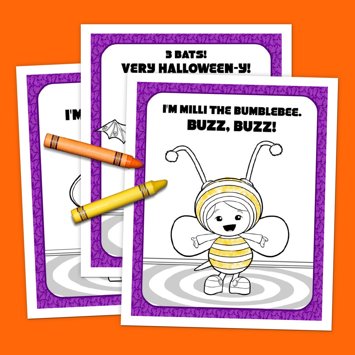 Team Umizoomi Halloween Coloring Pack