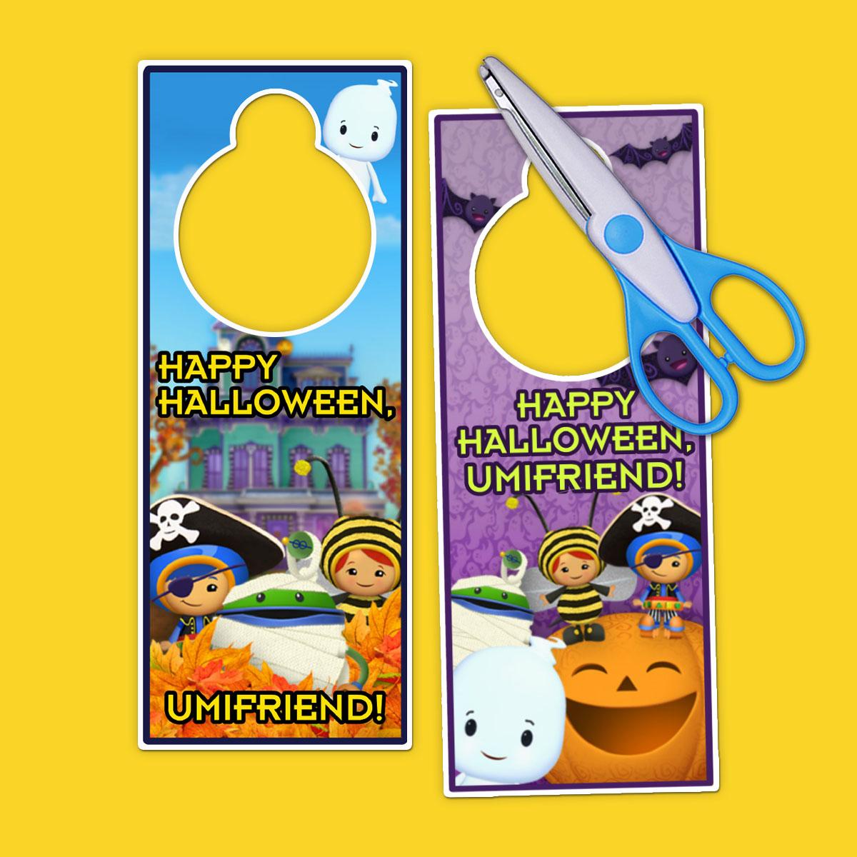 Umizoomi Halloween Door Hangers