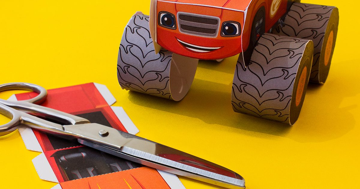 Blaze Vehicle Craft Nickelodeon Parents