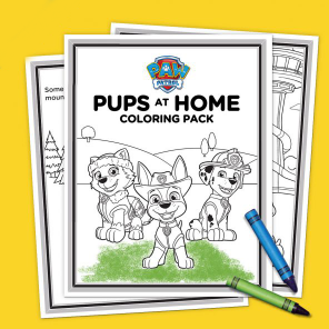 Pups at Home Activity Pack