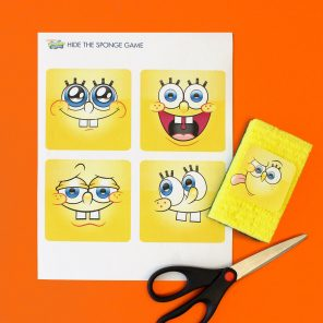 Hide the SpongeBob!