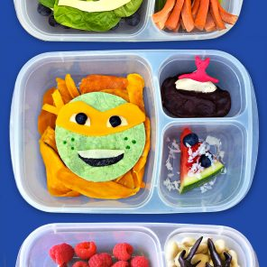 Four TMNT Lunches