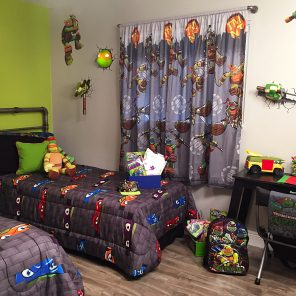 TMNT Bedroom Makeover