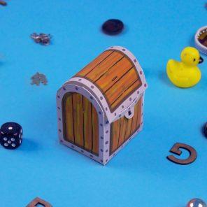 SpongeBob Printable Treasure Chest