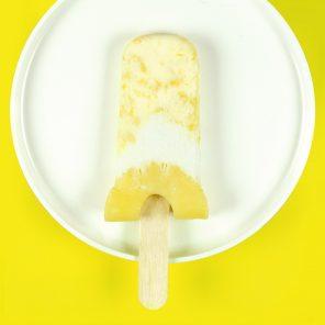 SpongeBob Pineapple Popsicles