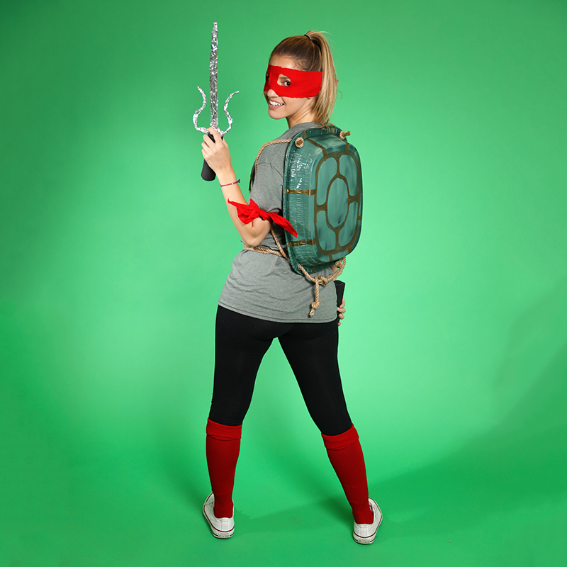 TMNT DIY Ninja Turtle Costume