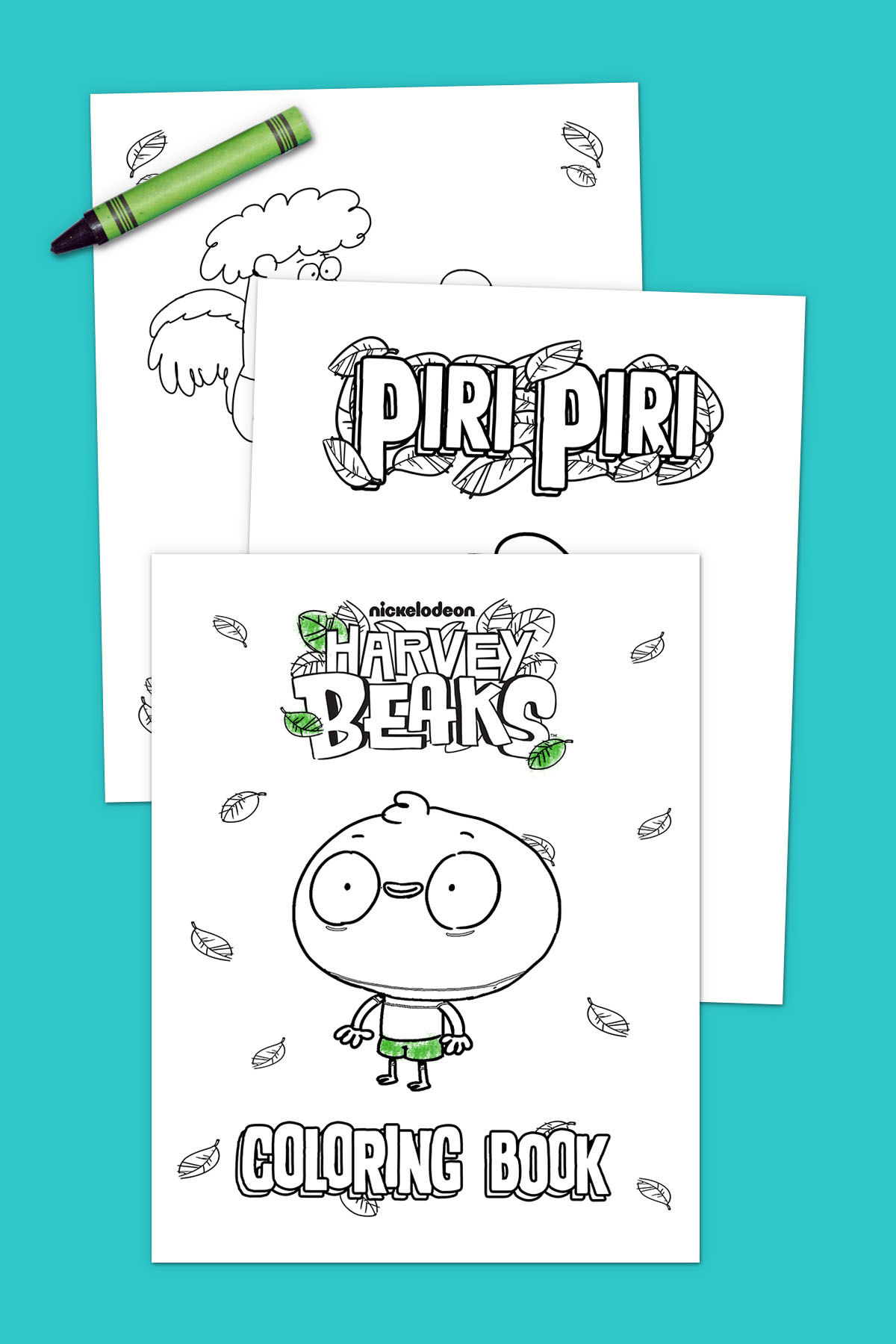 Harvey Beaks Coloring Pack