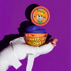 Nick Jr. Halloween Party Cupcake Toppers & Wrappers