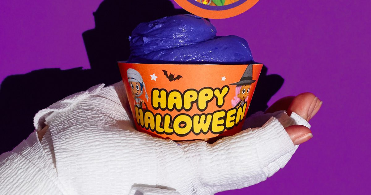 Nick Jr Halloween Party Cupcake