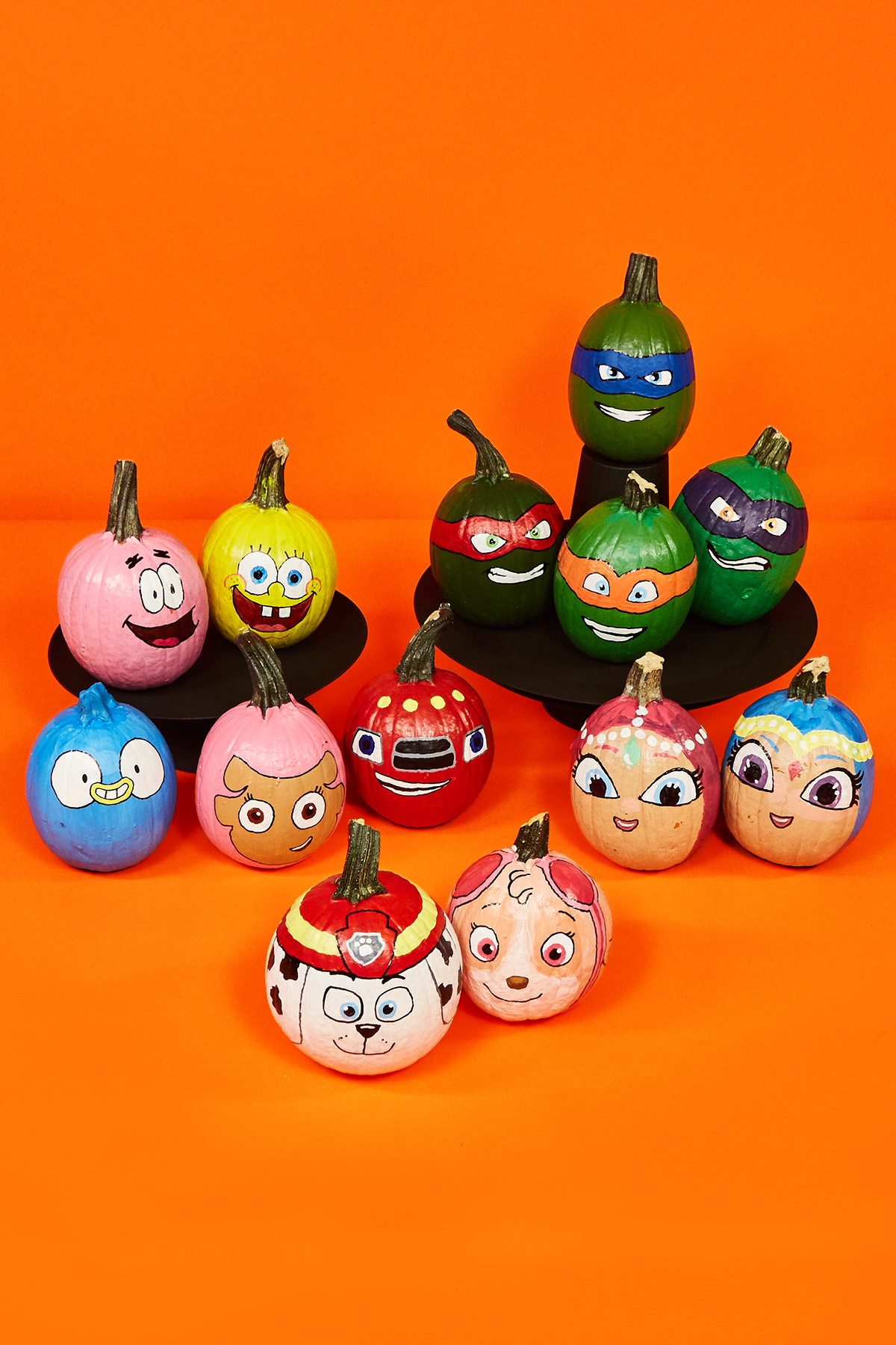 nickelodeon painted pumpkins nickelodeon parents