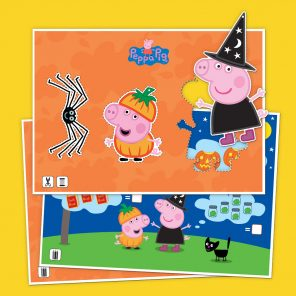 Peppa Halloween Activity Pack