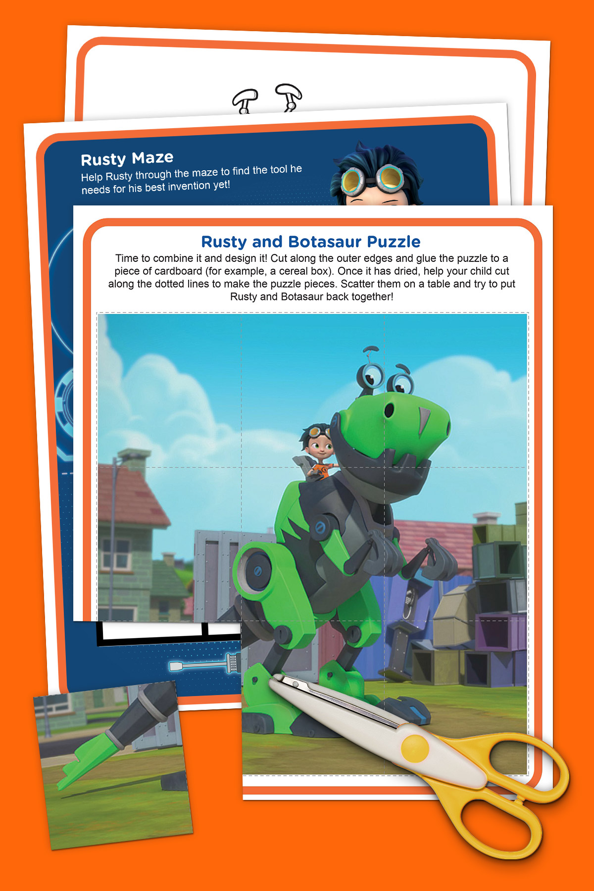 Rusty Rivets Activity Pack