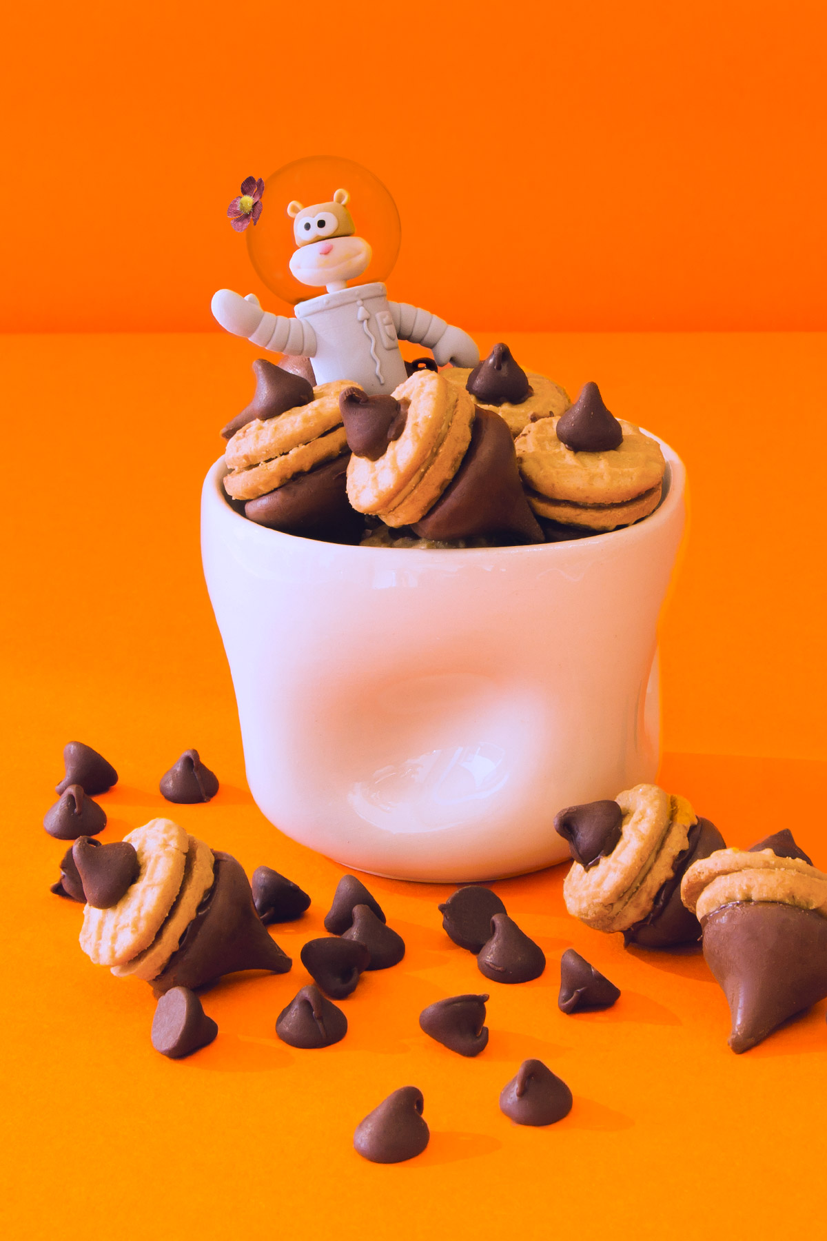 SpongeBob Sandy Acorn Treats