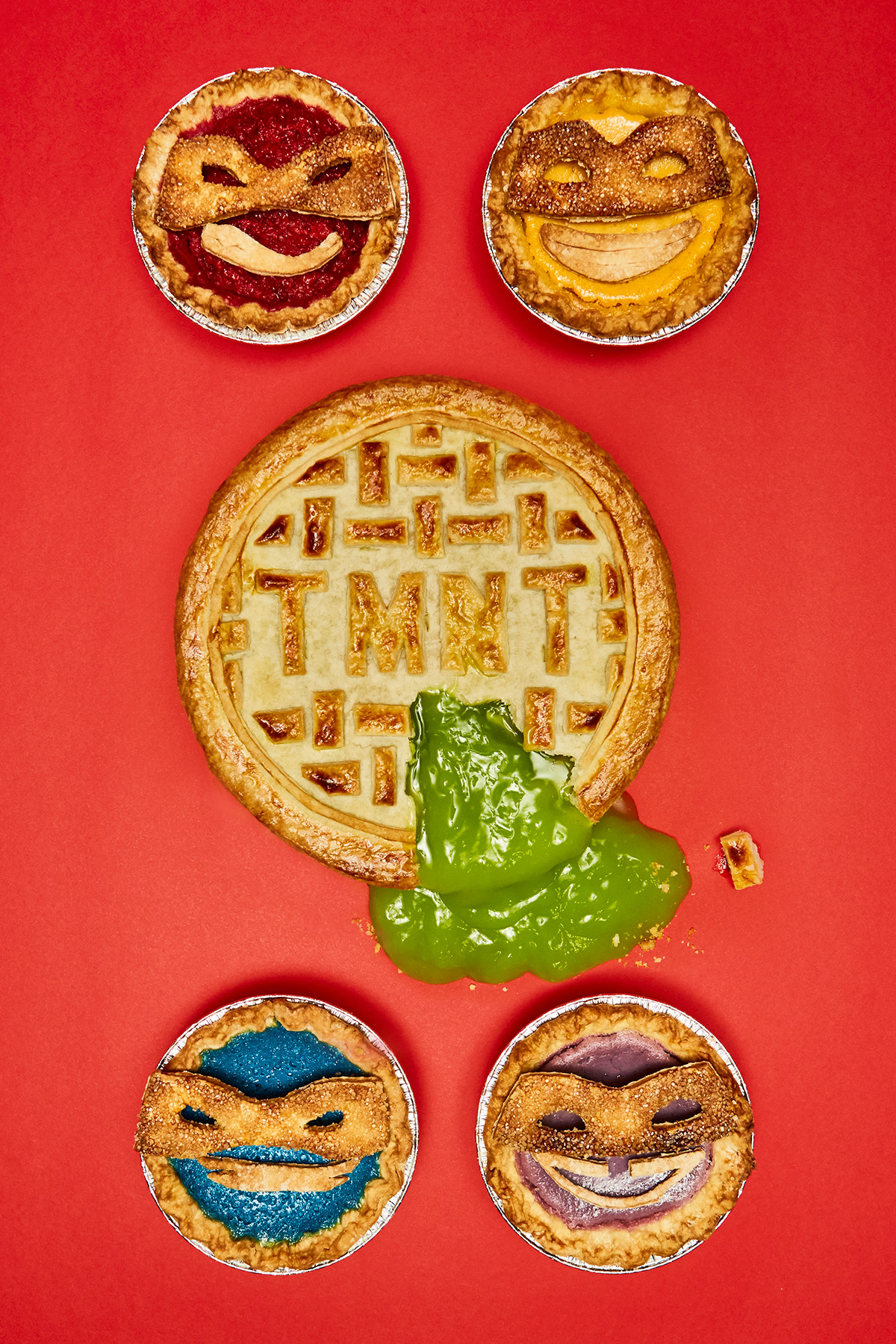 Seasonal TMNT Pies
