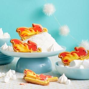 Blaze Sleigh Cookies