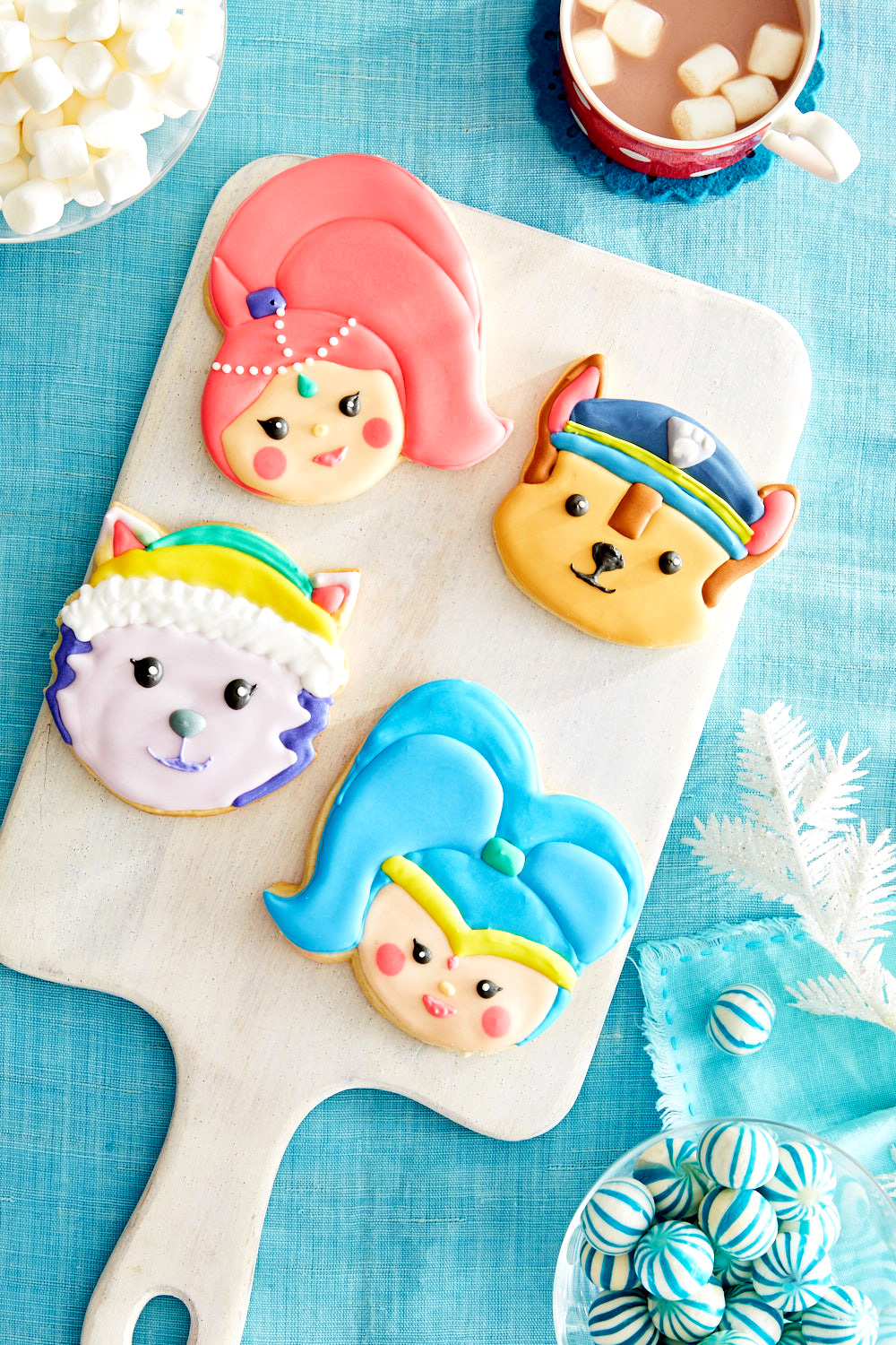 Nick Jr Holiday Cookies