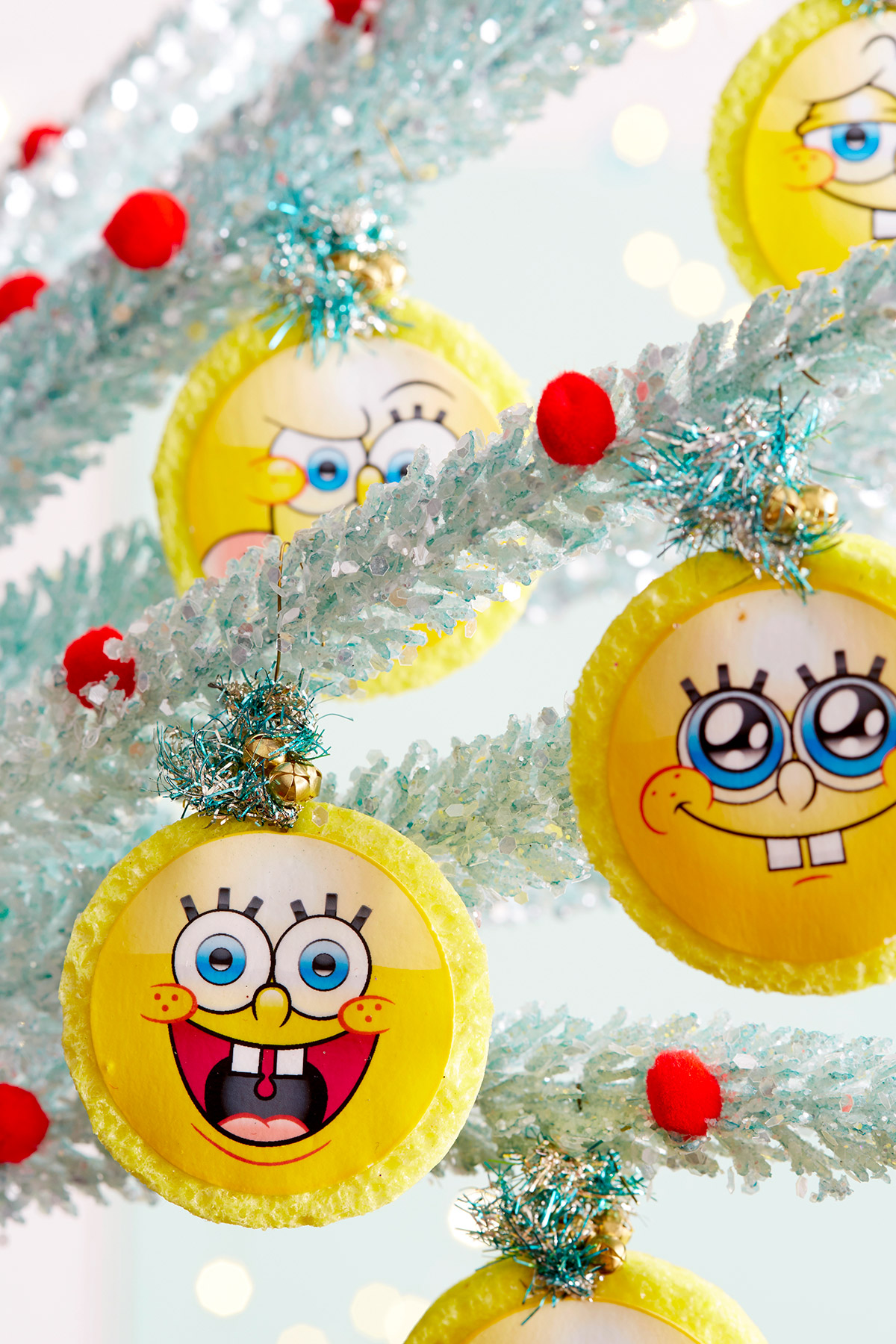 SpongeBob Sponge Ornament Craft