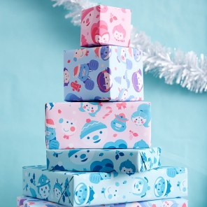 Nick Jr. Holiday Wrapping Paper