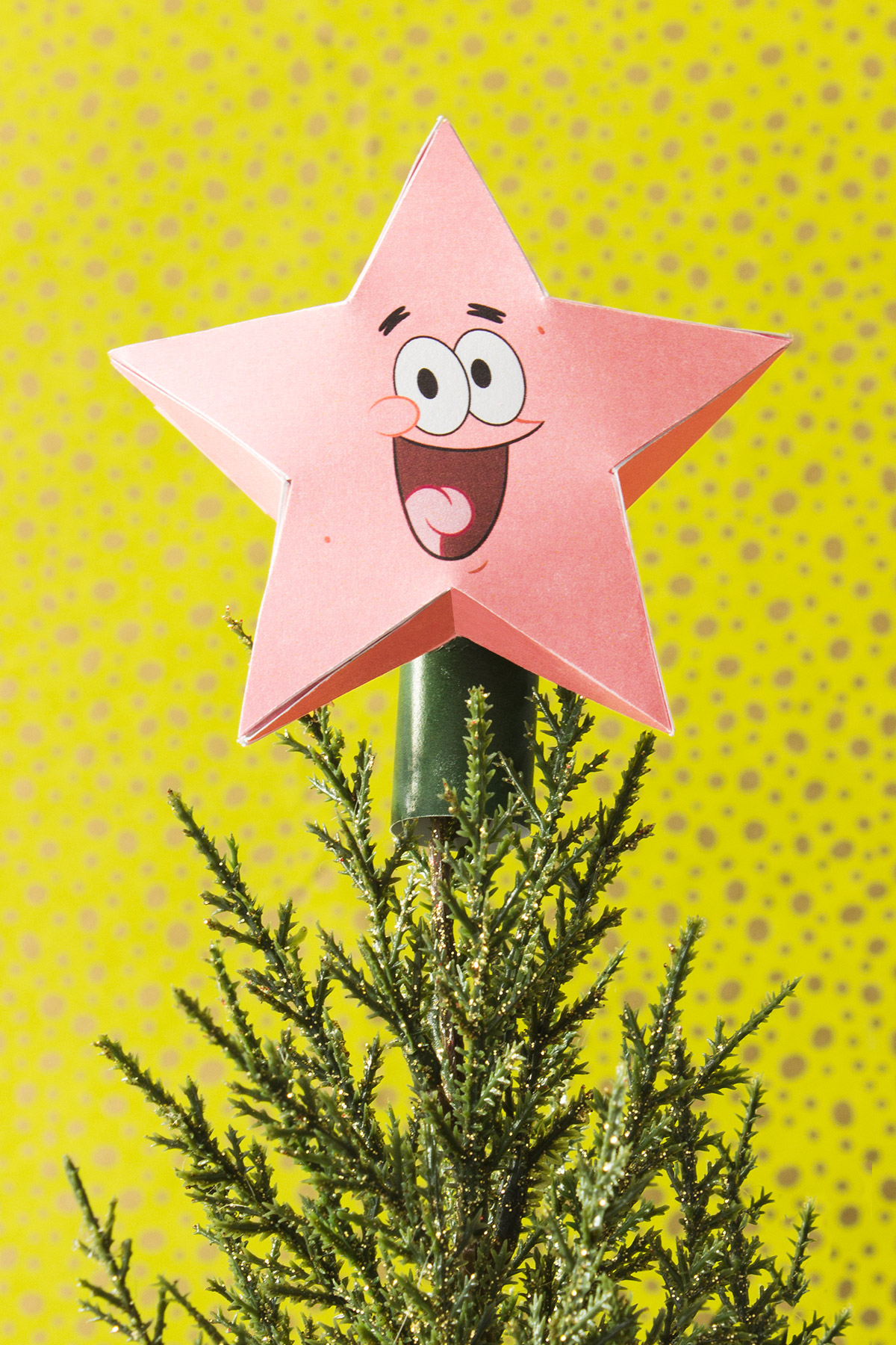 Patrick Star Tree Topper