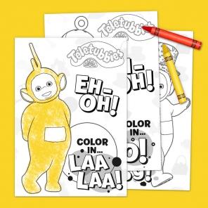Teletubbies Coloring