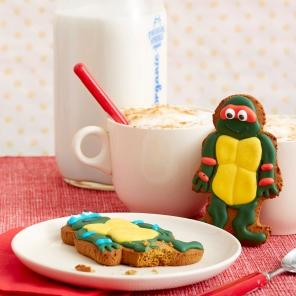 TMNT Ninja-bread Cookies