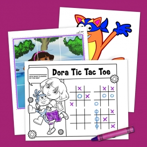 Top 10 Dora the Explorer Printables of All Time