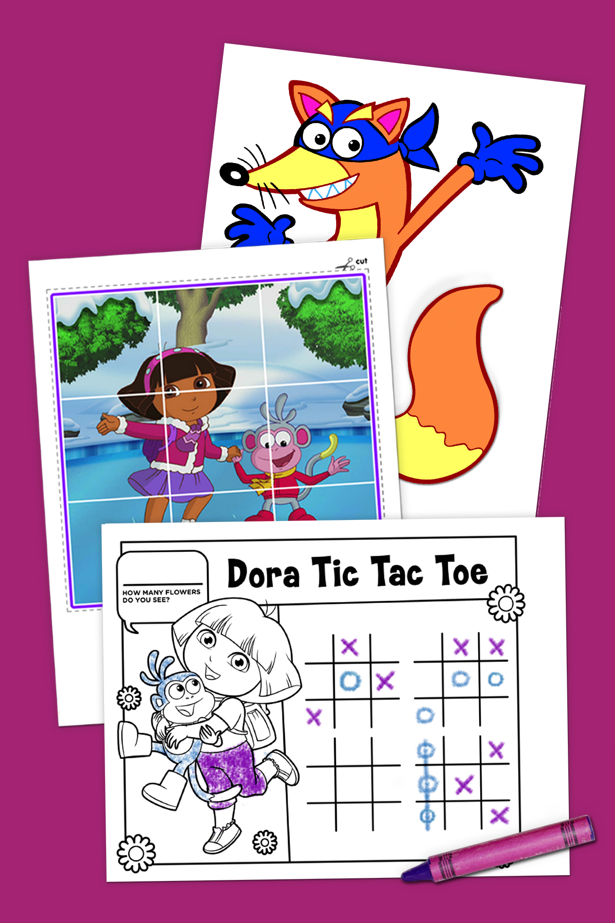 Top 10 Dora Printables of All Time