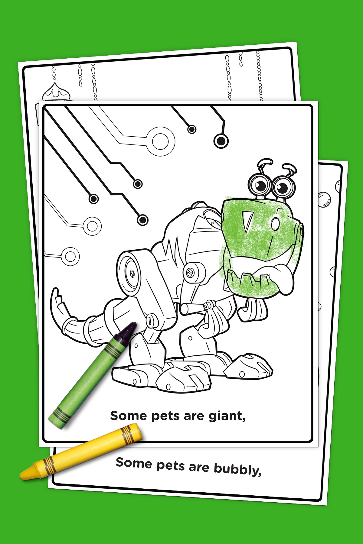 Pets of Nick Jr. Coloring Pack | Nickelodeon Parents