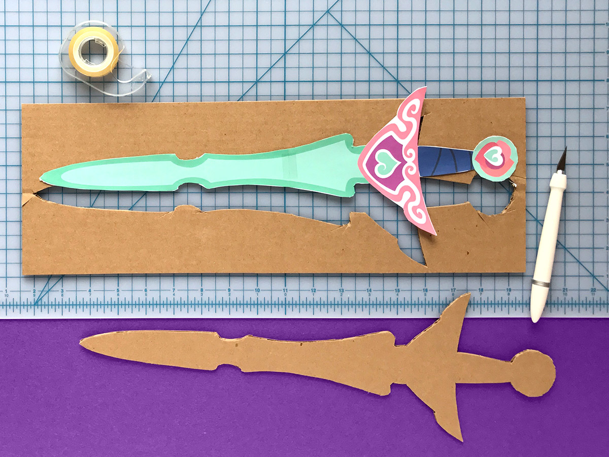 Nella Tiara/Sword Transformation Craft