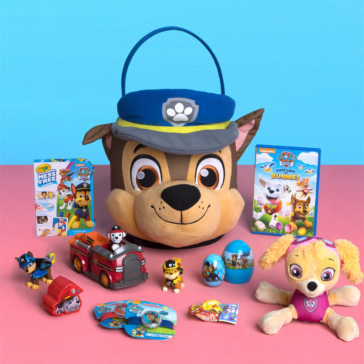 Build the pawfect easter basket nickelodeon parents savesave to pinterest paw patrol easter basket negle Image collections
