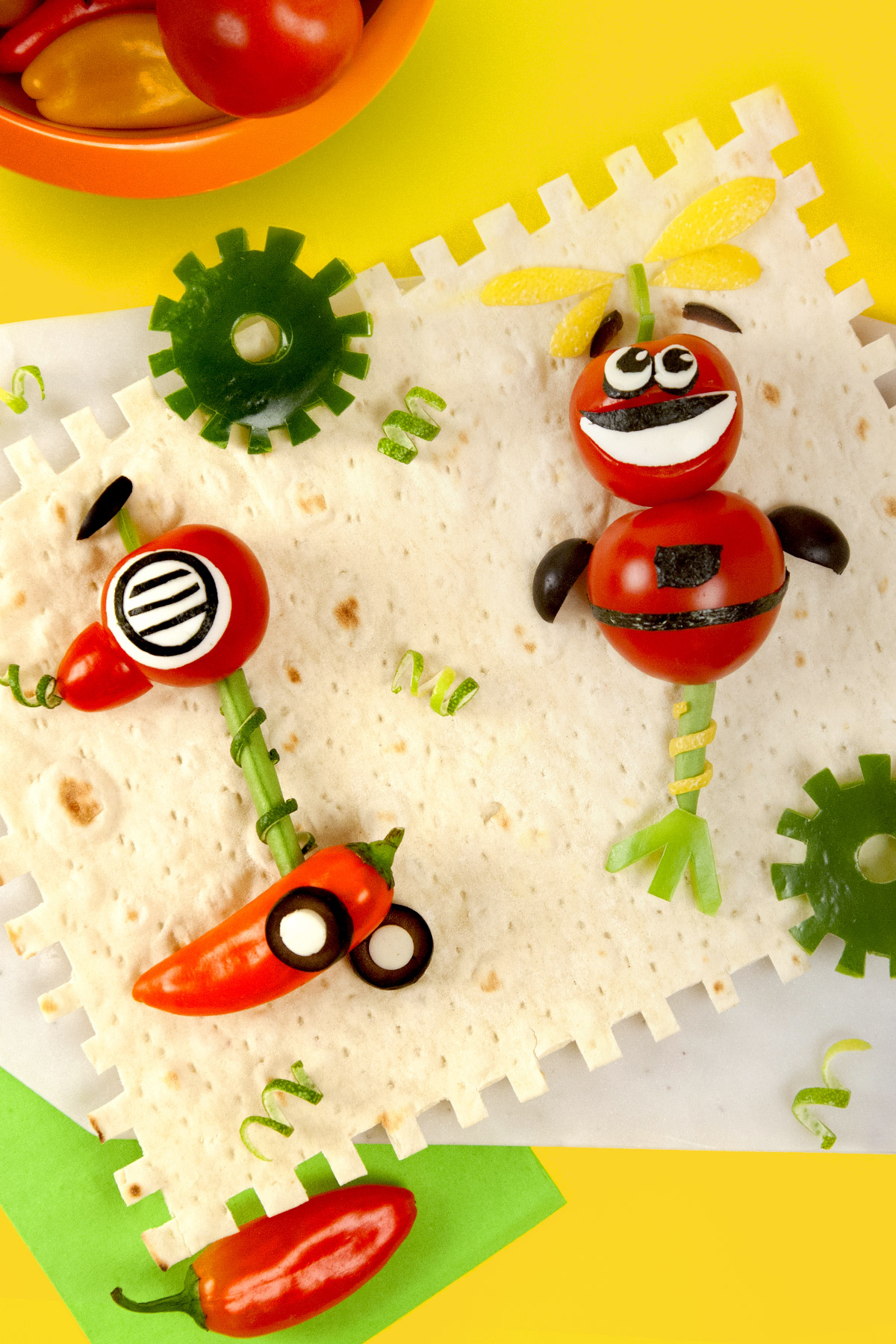 Rusty Rivets Veggie Bots Recipe