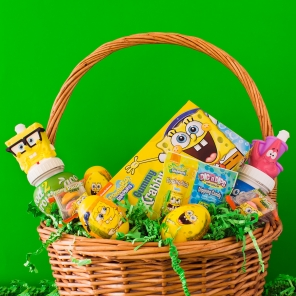 SpongeBob Easter Basket