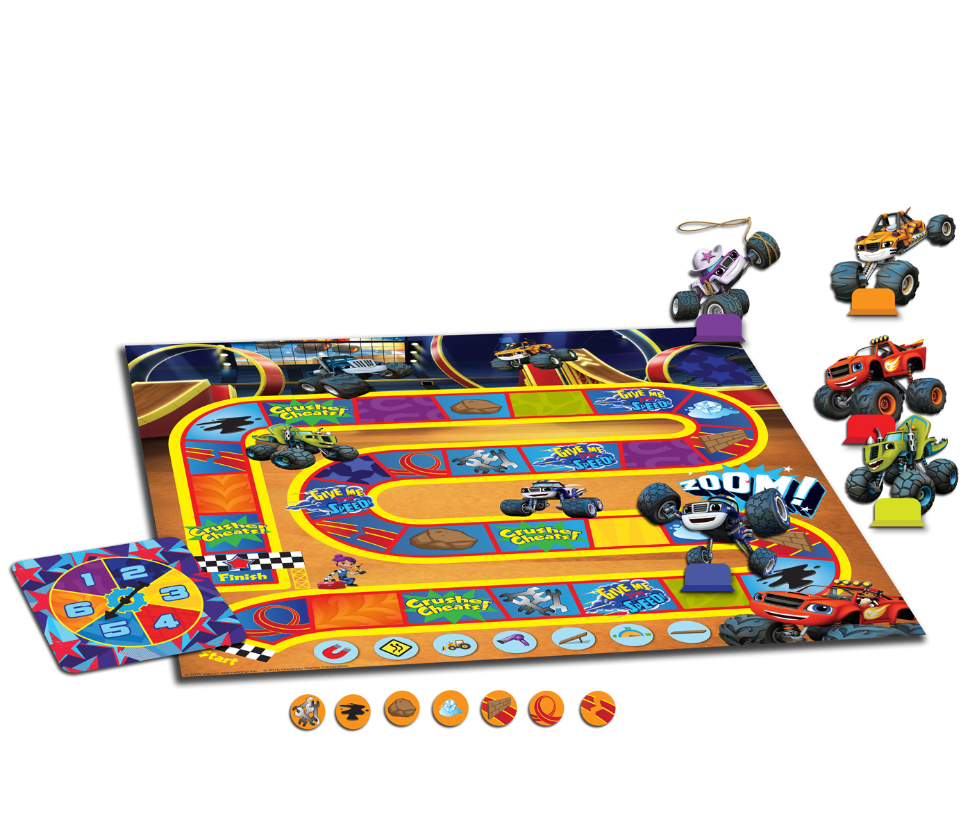 Blaze and the Monster Machines: Monster Dome Challenge Game