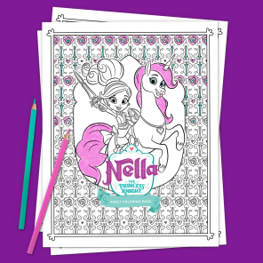 nella adult coloring pack coloring pages