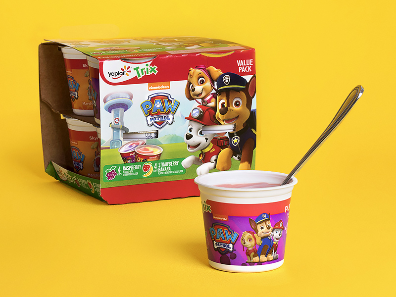 PAW Patrol Yogurt Cup Flower Pot