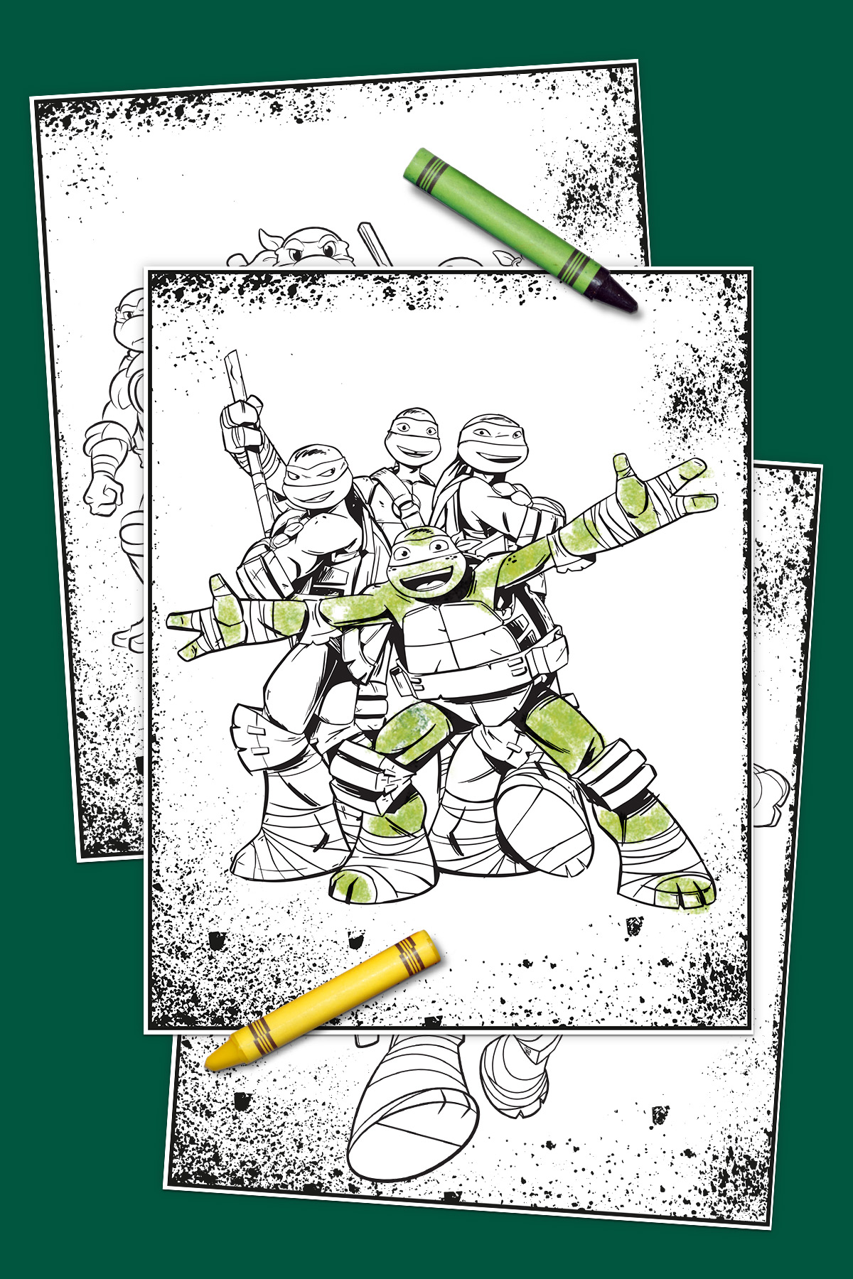 savesave to pinterest - Tmnt Coloring Pages