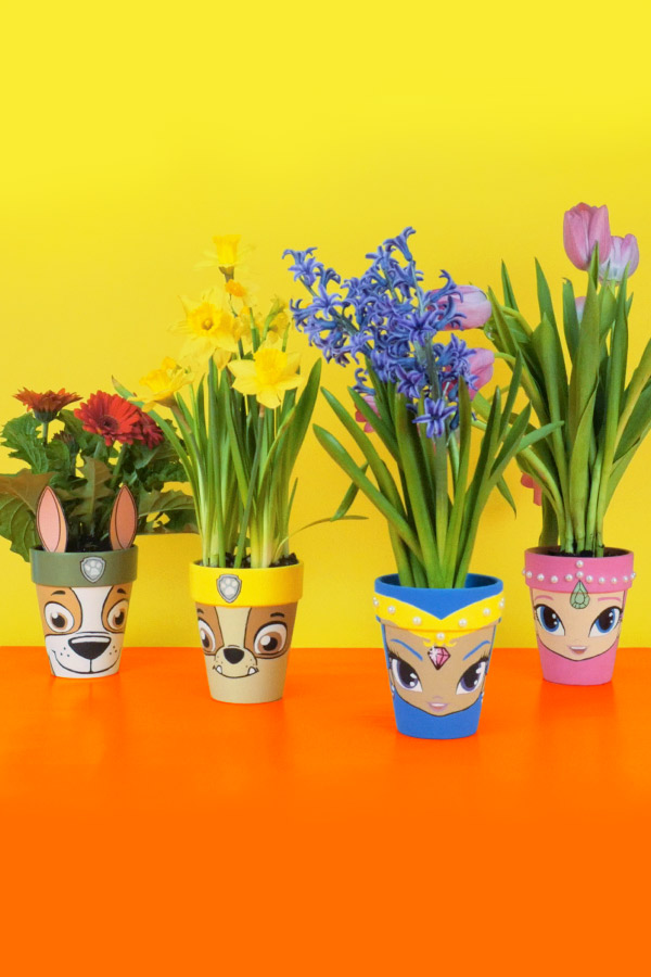 Nick Jr. Springtime Flower Pots